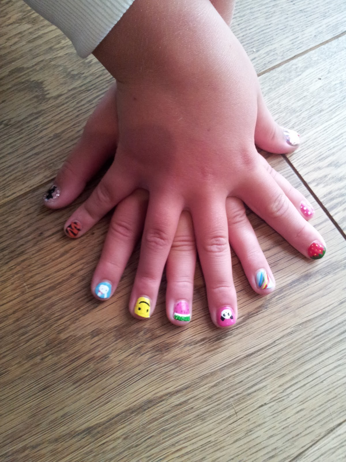 Nail Art Idea: kids nail art