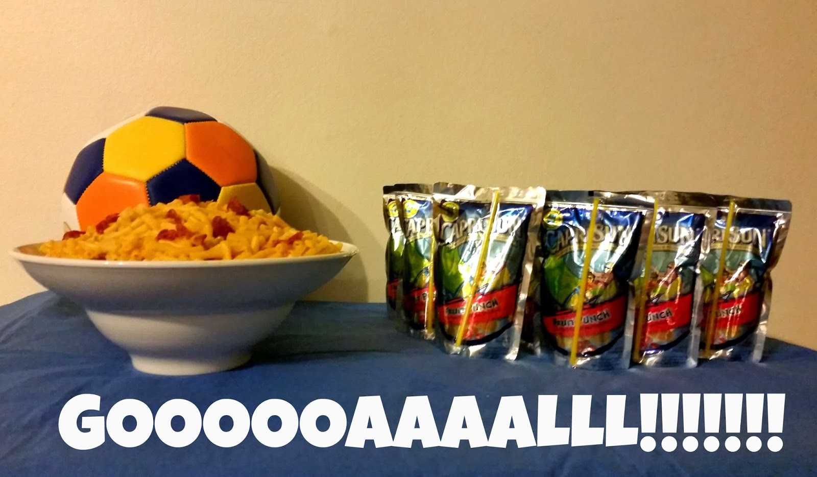 Mac & Cheese and Capri Sun: The Perfect Pairing #GolazoKraft #shop