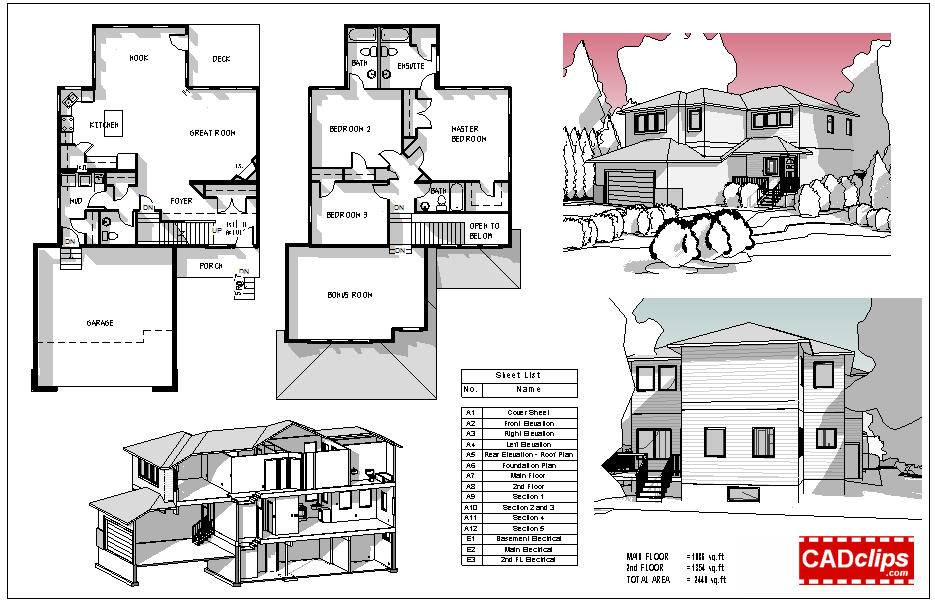Revit Elevation Key Plan : Revit rocks cool presentation plans