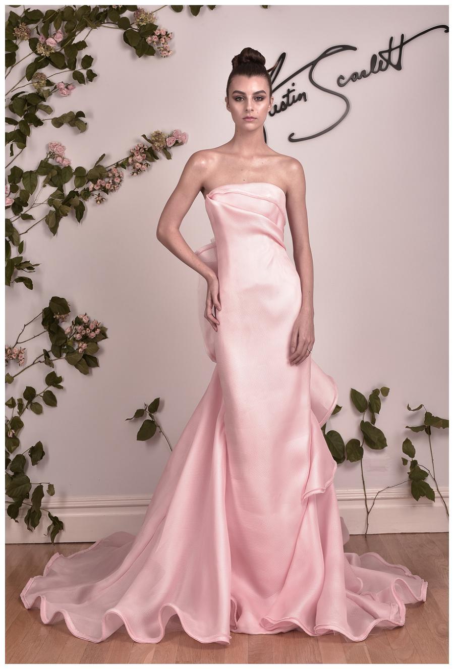 Austin Scarlett Pink Wedding Gowns 2016 | Bridal Wedding Ideas