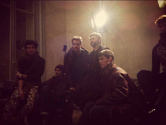 group AMI ALEXANDRE MATTIUSSI AUTUMN WINTER 2012 PARIS FASHION WEEK