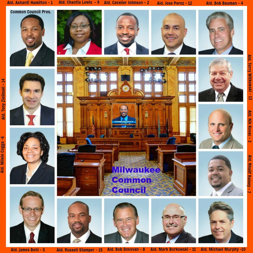 NOT just Business-as-Usual - Oath of Office Substance IN Milwaukee Common Council Leadership & Stew