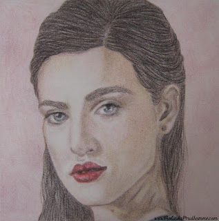portrait artist, beauty art, original artwork, merlin, merlin art, bbc merlin, king  arthur, morgana, katie mcgrath, katie mcgrath drawing
