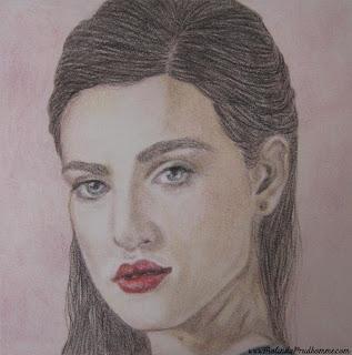 portrait artist, beauty art, original artwork, merlin, merlin art, bbc merlin, king  arthur, morgana, katie mcgrath, katie mcgrath drawing