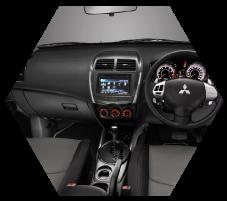 New Features in Interior Mitsubishi Outlander Sport Pekanbaru Riau