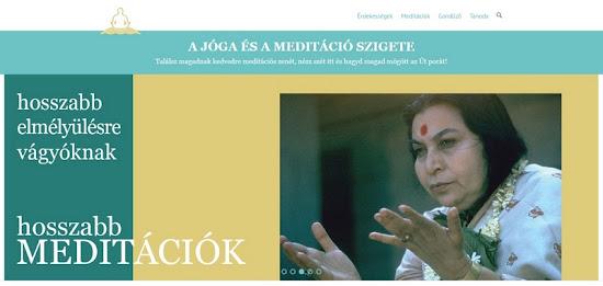 jóga meditácó