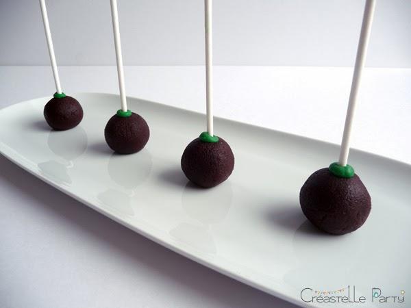 cake pops nutella avec batônnet