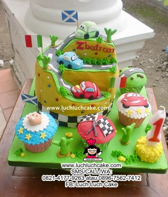 Kue Tart The Cars Daerah Surabaya - Sidoarjo