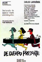 De cuerpo presente (1967) Descargar y ver Online Gratis