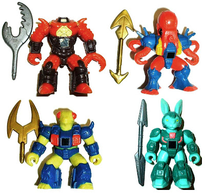 Hasbro's Battle Beasts Loose Figures