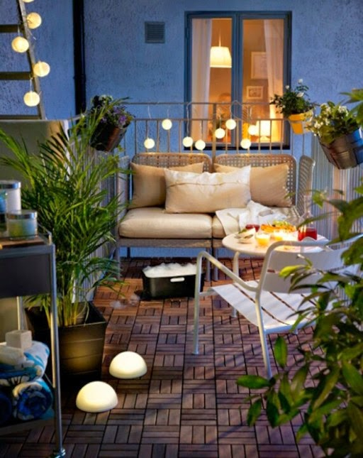 Icono interiorismo 5 ideas para decorar una peque a for Ideas para decorar una terraza exterior