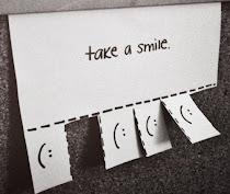 .Zâmbetul este fericirea care se afla chiar sub nasul tău.