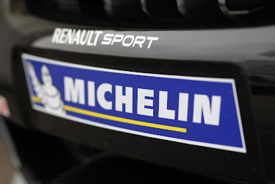 Michelin Logo on Renault Clio Cup Car