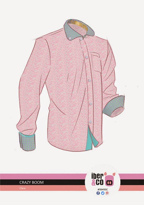 Crazy Boom (Diseño de camisa para Iber&Co )