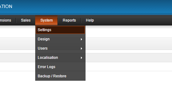 Enabling Maintenance Mode in OpenCart