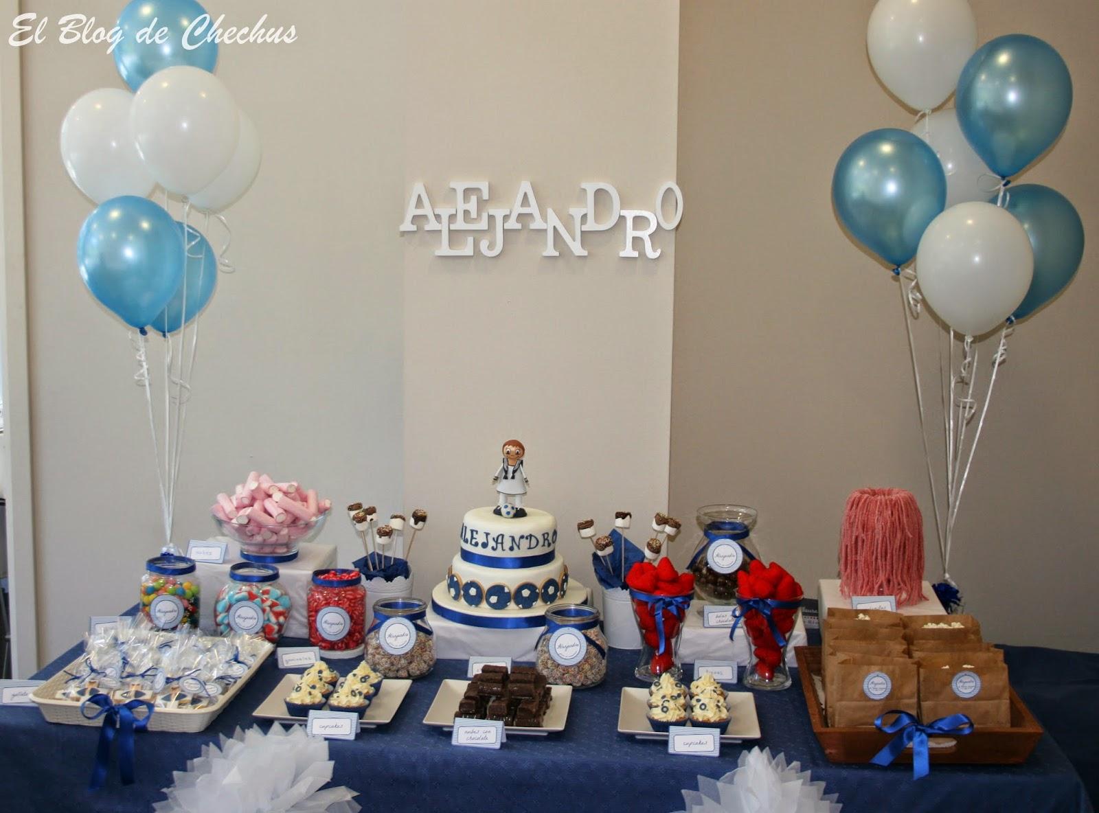 Chechus cupcakes valencia for Mesa dulce para comunion