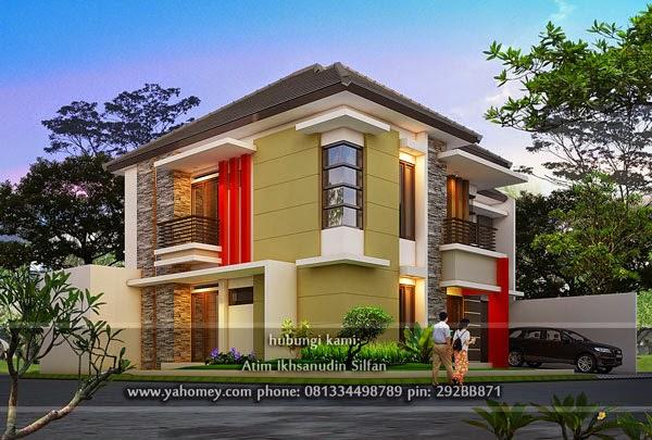 Perspektif desain rumah pojok Rafei Shop Bandung & Seputar Dunia Rumah: Desain Rumah Pojok Modern Minimalis Rafei Shop ...