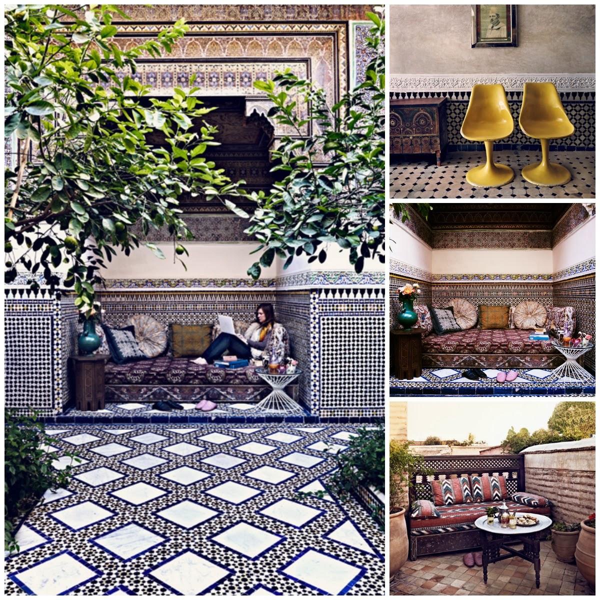 El tiempo entre costuras, Marruecos, La Musa Decoración,Jardines, Terraza, Exterior, Outdoor, garden