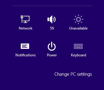 PC setting