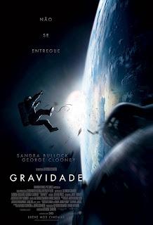 """Poster do filme """"Gravidade"""""""
