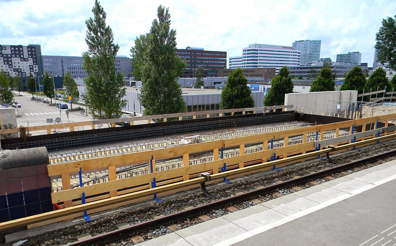 Projecteren uitbreiding metrohalte isolatorweg amsterdam - Uitbreiding hal ...