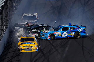 Nacar Racing Contest Chevrolet Ford  Cars Accident HD Wallpaper
