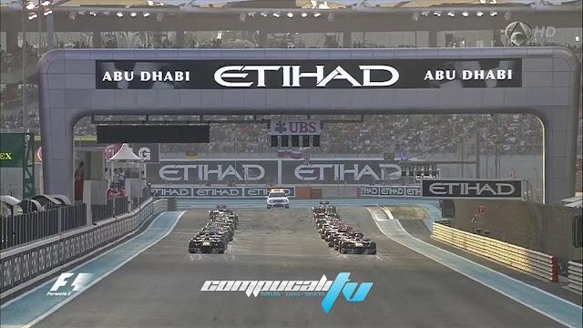 GP de Abu Dabi Formula 1 Noviembre 3 HD 2013 Español