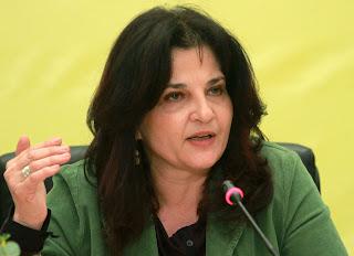 Την έτσουξε την ψευτο - οικολόγα  η πολιτική κόντρα με τον Η. Κασιδιάρη και έβγαλε δελτίο τύπου