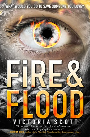 Fire & Flood (Fire & Flood #2) by Victoria Scott