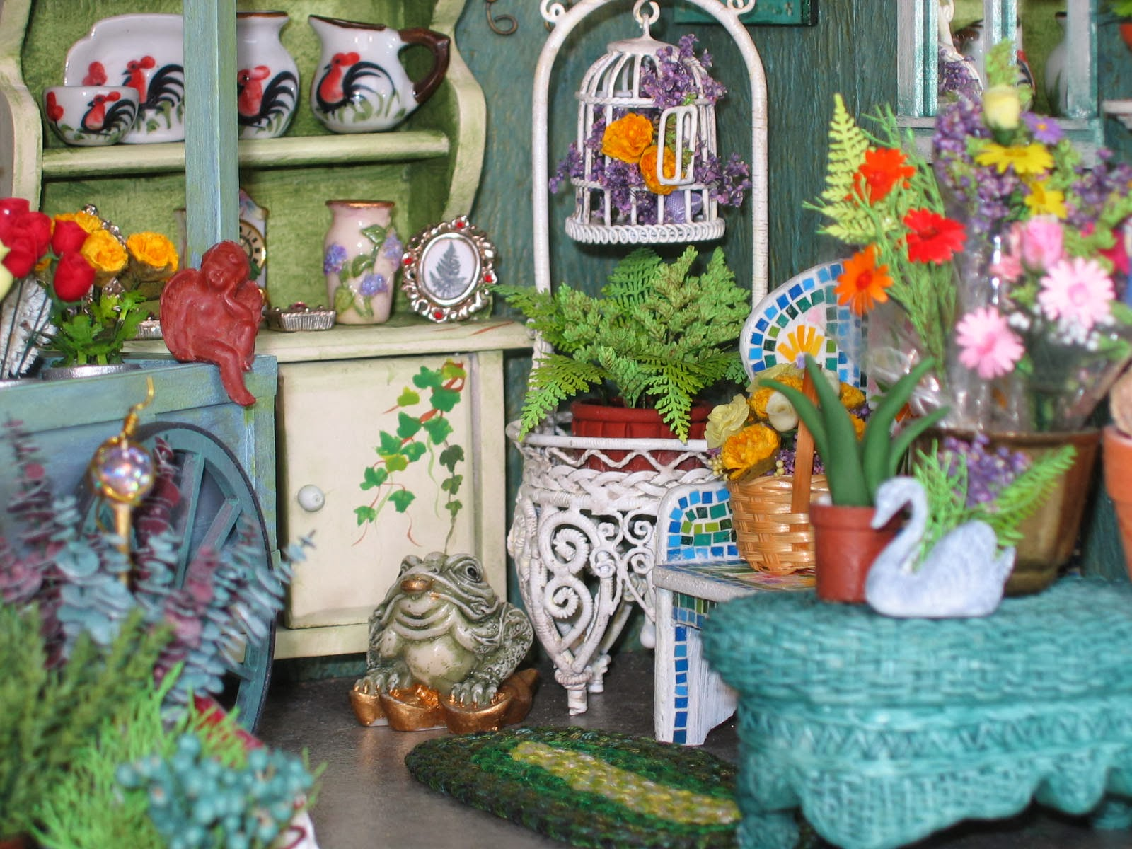 dollhouse flowers