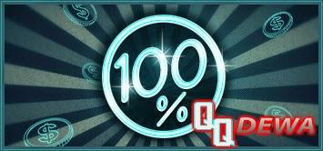 Bonus Tambahan 100%