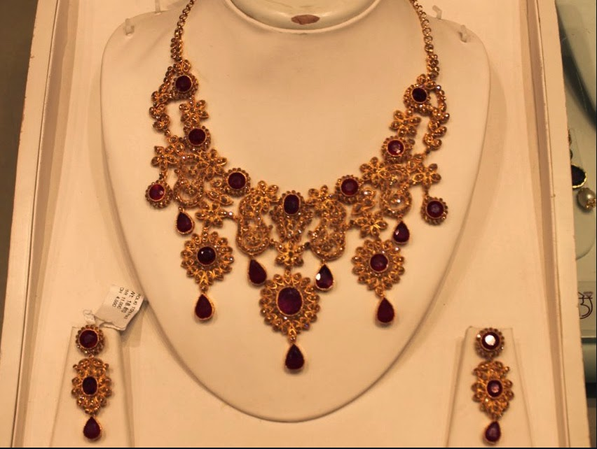 Bridal Uncut Diamond Set