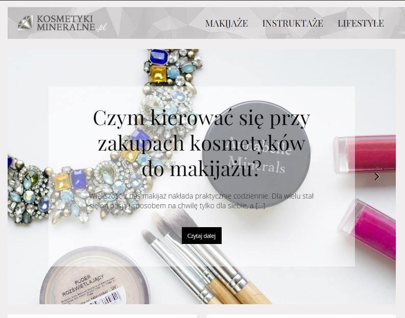 Tu mnie znajdziesz | Portal kosmetykimineralne.pl