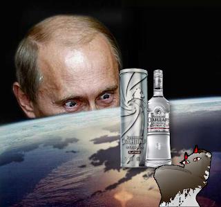 Alaska stole Putin's vodka.