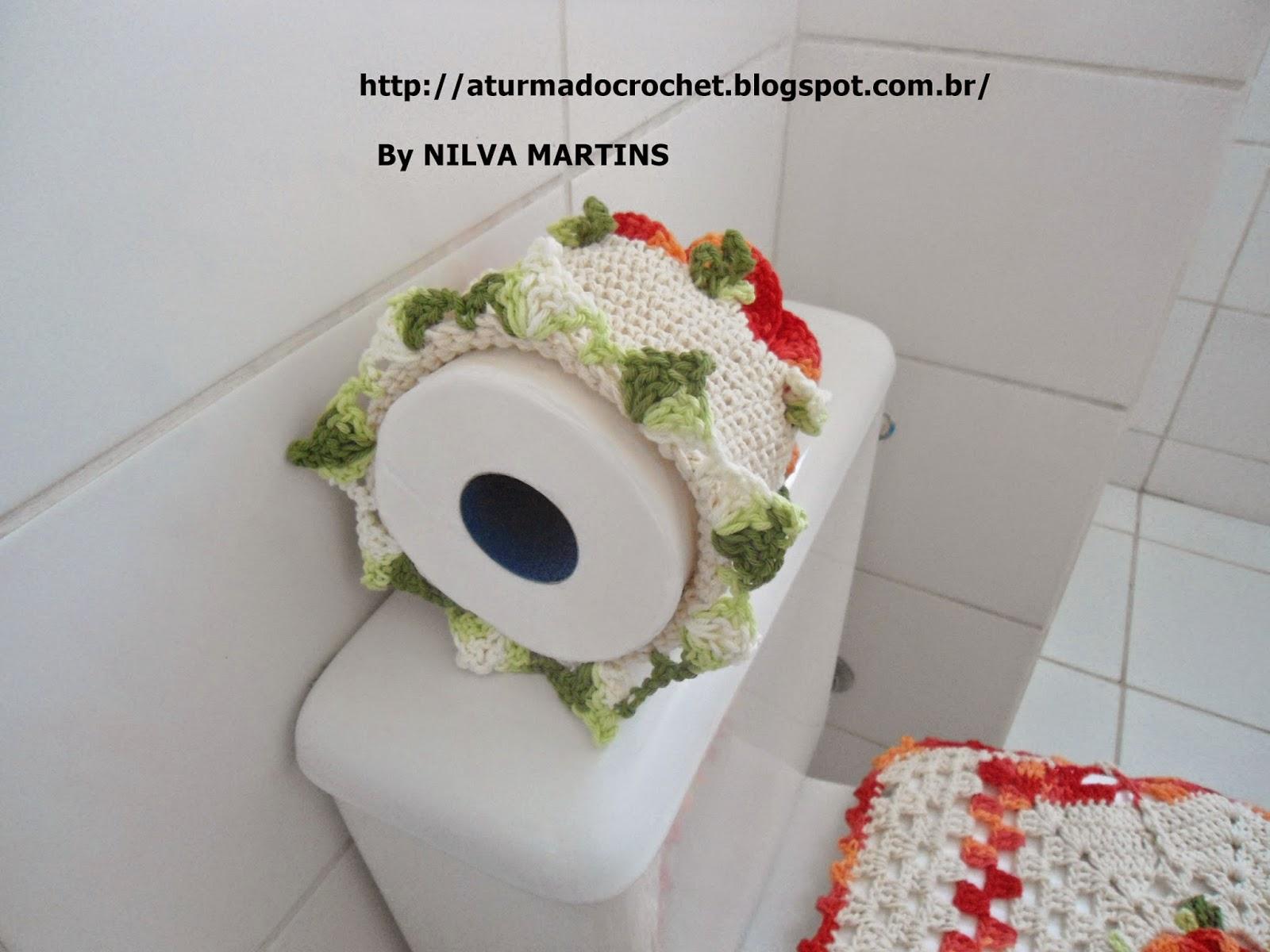TURMA DO CROCHET: JOGO DE BANHEIRO LUXO COM FLOR SEGREDO FECHADA. #932626 1600x1200 Acessorios Banheiro Luxo