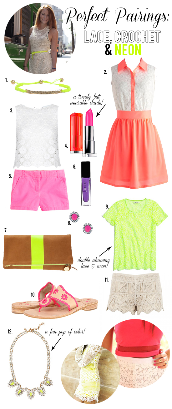 Try this Trend: Crochet & Neon