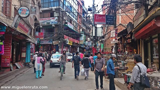 Barrio-Thamel-Katmandu