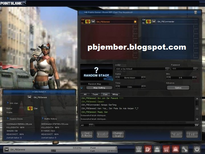 Point Blank Tips Trick 8 Char Pb Paling Melegenda