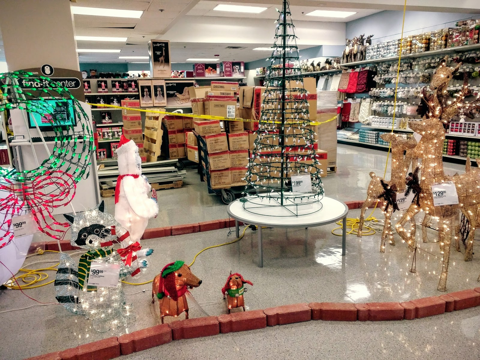 christmas in october at sears in bethesda photos