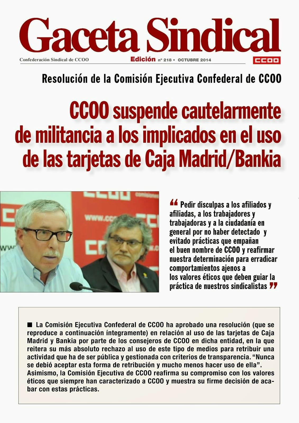 Ccoo ense anza octubre 2014 for Ccoo ensenanza madrid