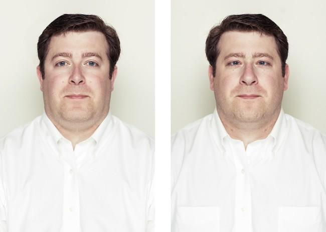 lados rostros simetricos Alex John Beck