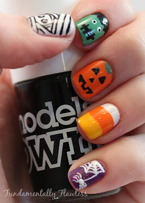 Fundamentally Flawless: Models Own Halloween Nail Art