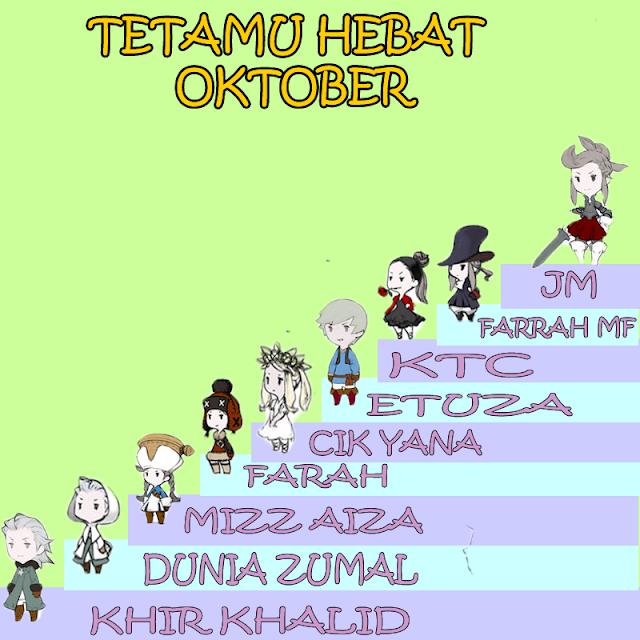 TETAMU HEBAT OKTOBER