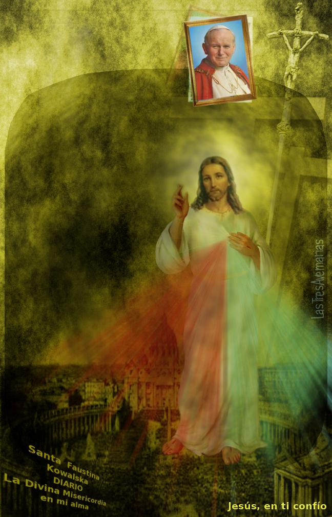 jesus y el papa juan pablo segundo