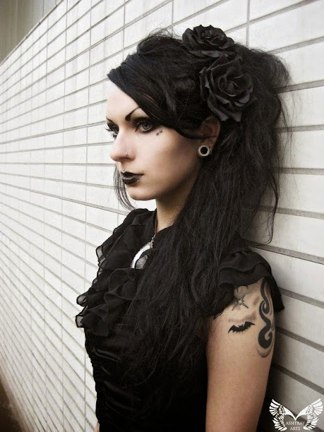 gothic hairstyles - haircut