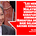 LEE KUAN YEW BERDENDAM DENGAN MALAYSIA - DIPLOMAT VETERAN
