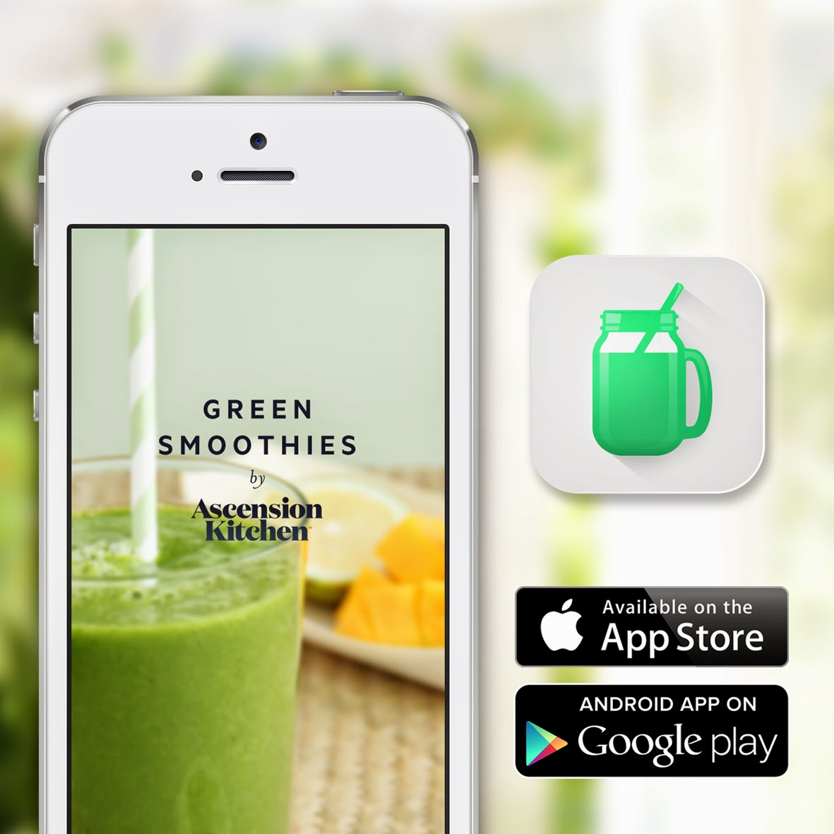 Green Smoothies by Ascension Kitchen APP