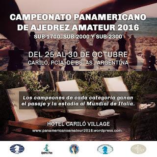 Campeonato Panamericano Amateur 2016 (Dar clic a la imagen)