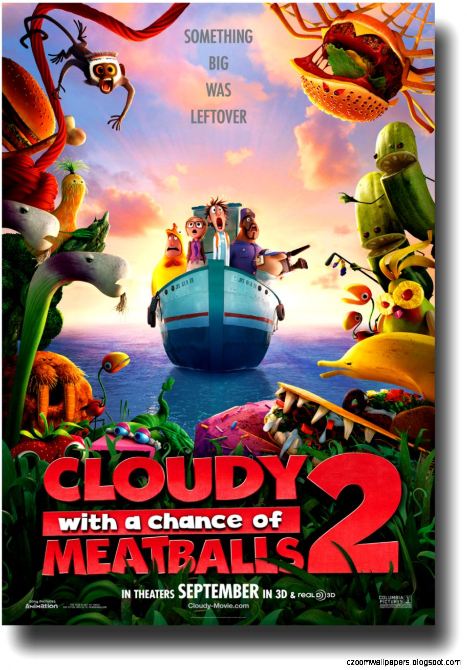 1920x1080px 857302 Cloudy With A Chance Of Meatballs 2 112988