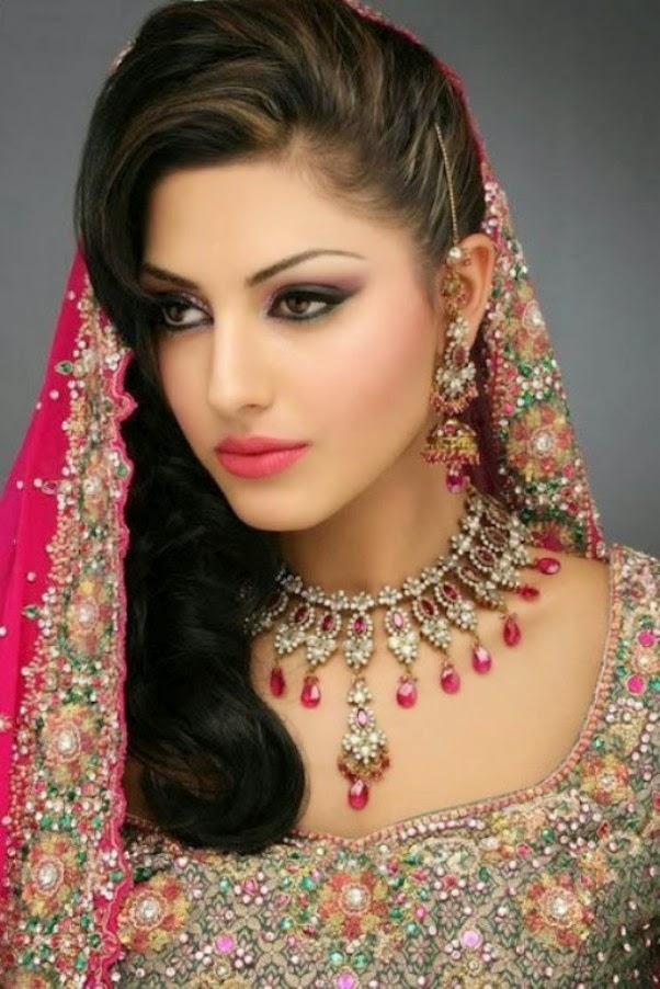 Indian and Pakistani Bridal Hairstyle 2014 | News Fashion Styles